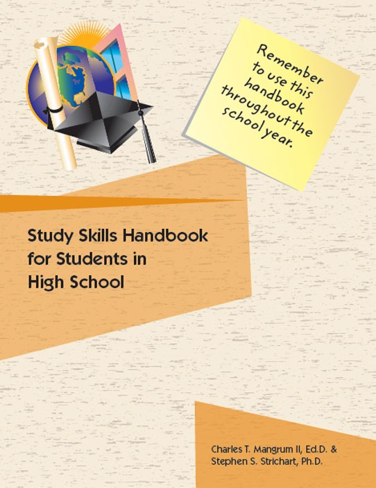 High School LD and Struggling Students Study Skills Handbook Cover