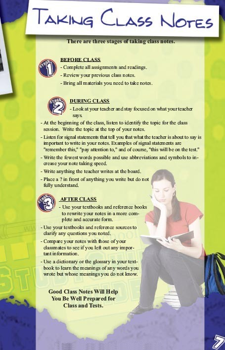 Study Skills Handbook for Students in High School