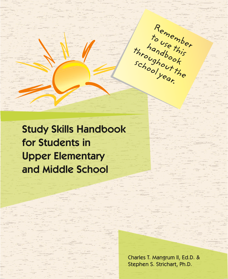 Upper Elementary/Middle School Struggling Learners Study Skills Handbook
